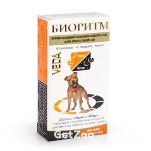 Veda (Веда) Биоритм Витаминно-минеральный комплекс для собак средних размеров (10-30 кг)