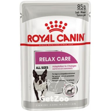 Влажный корм для собак, подверженных стрессу Royal Canin Relax Care паштет 85 г