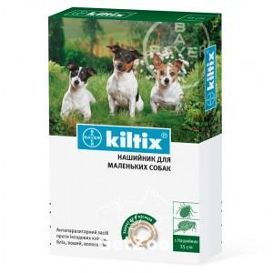 Kiltix (Килтикс) Ошейник против блох и клещей для малых пород собак 35 см