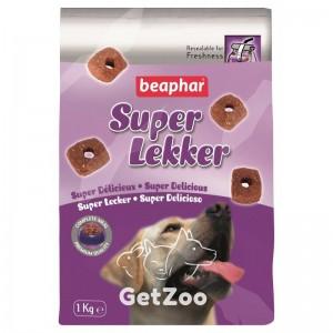 Beaphar (Беафар)Супер Лэккер Деликатесный корм для собак, 1 кг