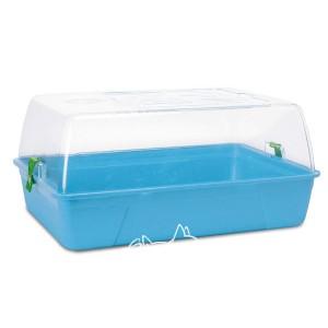 Savic РОДИ ХАМСТЕР (Rody Hamster Basic) клетка для хомяков, ярко-голубой