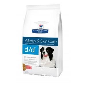 Hill's (Хиллс) D/D Сухой корм c лососем для собак с проблемами пищевой аллергии и заболеваниями кожи