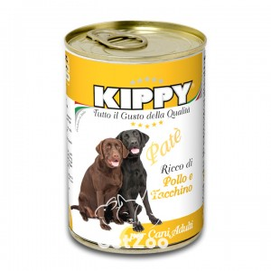 Kippy Киппи Курица и индейка паштет для собак