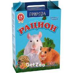 Природа Рацион Корм для мелких грызунов, 1,5 кг