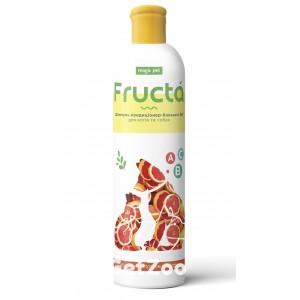 Fructa Шампунь-кондиционер с грейпфрутом для профилактики перхоти для кошек и собак, 220 мл