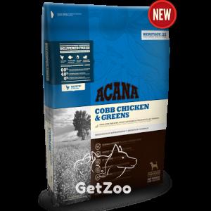 Acana Cobb Chicken & Greens Сухой корм для собак всех пород и возрастов