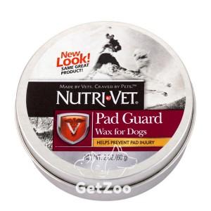 Nutri-Vet Pad Guard Wax Защитный крем для подушечек лап для собак, 60 г