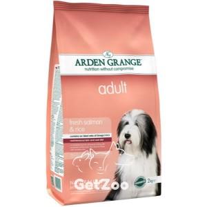 Arden Grange Adult Salmon & Rice Сухой корм с лососем и рисом для взрослых собак с чувствительным желудком и кожей