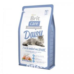 Brit Care Cat DAISY I have to control my Weight Сухой корм с индейкой и курицей для кошек, склонных к полноте