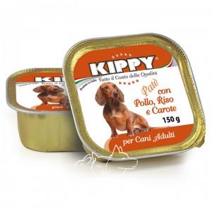 Kippy Киппи Курица, рис и морковь паштет для собак