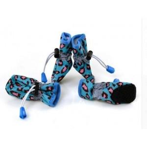 Лёгкие водонепроницаемые ботиночки для собак XS
