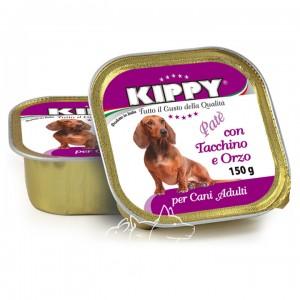 Kippy Киппи Индейка и ячмень паштет для собак