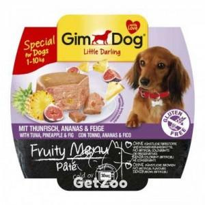 GimDog Тунец, ананас, инжир консервы для собак