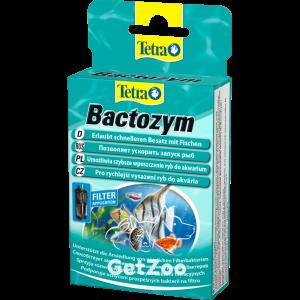 Tetra Bactozym Кондиционер для развития полезной микрофлоры и быстрого запуска рыб в аквариум, 10 капс.