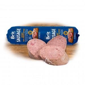 Brit Premium Dog Sausage Sport BEEF & FISH Колбаса с говядиной и рыбой для активных собак, 800 г