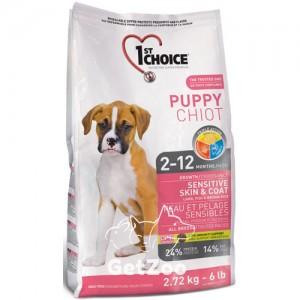 1st Choice Puppy Сухой корм с ягнёнком и океанической рыбой для щенков всех пород