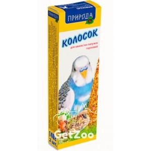 Колосок для попугая ореховый 140г