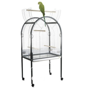 Imac АМАНДА (AMANDA) клетка для крупных попугаев, пластик, 85х54х155 см