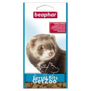 Beaphar (Беафар)  Xtra Vital Ferret Bits Лакомство с мальт пастой для хорьков, 35 г