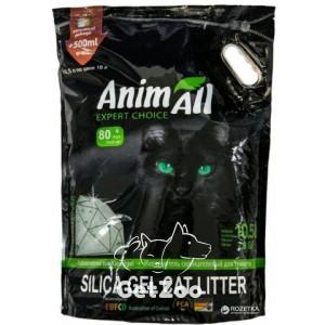 AnimAll Силикагелевый наполнитель для кошек