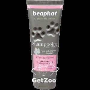Beaphar (Беафар) Французский премиум-шампунь для кошек и котят с экстрактами белого чая и шелка, 200 мл