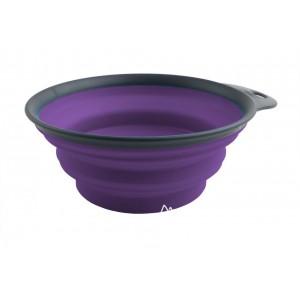 Дорожная складная миска Dexas 240 мл Фиолетовая