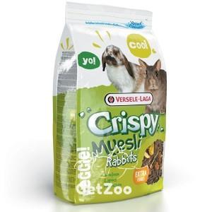 Versele-Laga CRISPY MUESLI Cuni зерновая смесь корм для карликовых кроликов