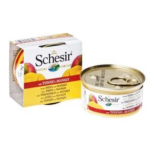 Schesir (Шезир) Cat Тунец и манго консервы для кошек