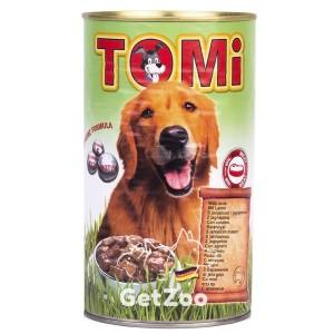 TOMi ТОМи Консерва с ЯГНЕНКОМ для собак, 1,2 кг
