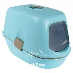 Trixie Berto Закрытый туалет для кошек с фильтром и дополнительным ситом, 39×42×59 см