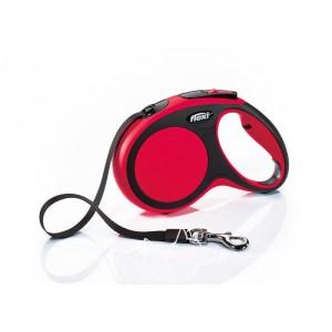Flexi New Comfort L Tape Поводок-рулетка для собак до 50 кг, лента, 8 метров