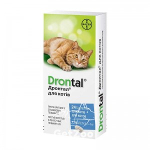 DrontalДронтал таблетки от глистов для кошек