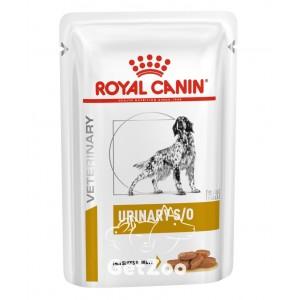 Royal Canin Urinary S/O Canine Влажный корм для собак с мочекаменной болезнью 100 г