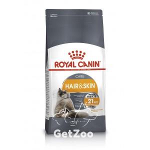 Royal Canin HAIR & SKIN Care Сухой корм для здоровья и красоты кожи и шерсти у кошек