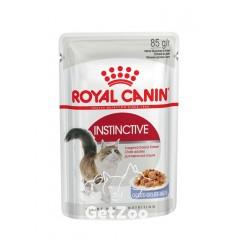 Royal Canin Instinctive Влажный корм для кошек от 1 года (кусочки в желе)