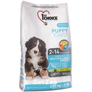 1st Choice Puppy Сухой корм с курицей для щенков средних и крупных пород