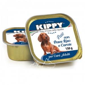 Kippy Киппи Рыба, рис и морковь паштет для собак