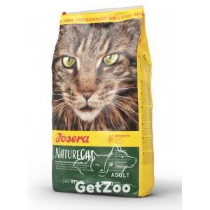 Josera NatureCat Беззерновой сухой корм с птицей и лососем для котят от 6 месяцев и взрослых кошек
