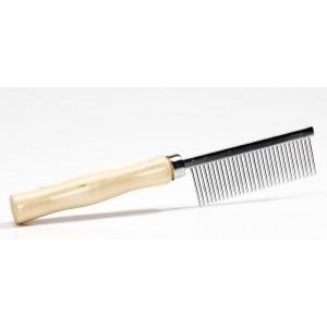 Pet Pro РАСЧЕСКА с деревянной ручкой