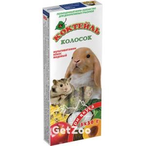 Коктейль Колосок для грызунов (мультивитамин, кокос, мед)