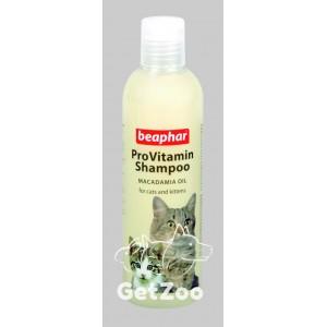 Beaphar (Беафар) ProVitamin Macadamia Oil Шампунь для кошек и котят, 250 мл