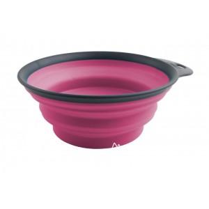 Дорожная складная миска Dexas 480 мл Розовая