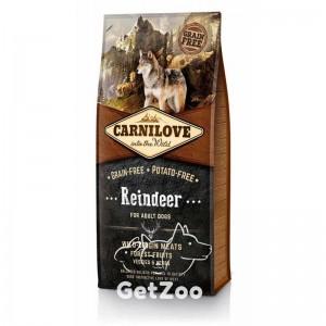 Carnilove Dog Adult Reindeer Беззерновой корм с олениной для собак