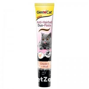 GimCat Anti-Hairball DUO-Paste Паста для вывода шерсти со вкусом курицы