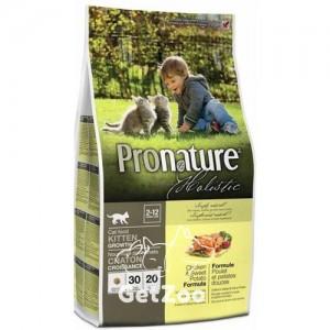 Pronature Holistic Сухой корм с курицей и бататом для котят