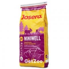Josera Miniwell Сухой корм для взрослых собак мелких пород 15 кг
