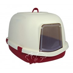 Trixie Primo XL Закрытый туалет с угольным фильтром для крупных кошек,56х47х71 см