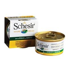 Schesir (Шезир) Cat Курица и сурими консервы для кошек