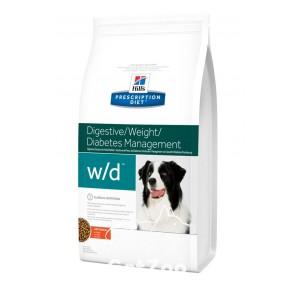 Hill's (Хиллс) W/D Корм для собак для профилактики ожирения, сахарного диабета и гиперлипидемии