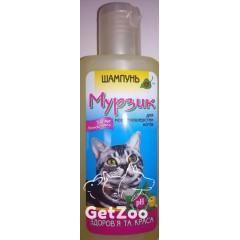 МУРЗИК Профилактический шампунь против блох и клещей для короткошерстных кошек, 250 мл